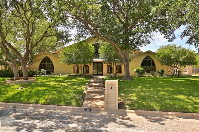 4 Turnberry Circle Abilene, TX 79606