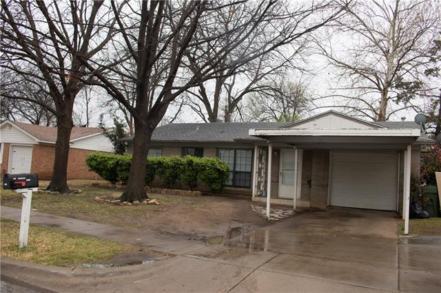 Photo of 2104 Menefee Street  Arlington  TX