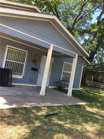 Photo of 1842 Shaw Street  Dallas  TX