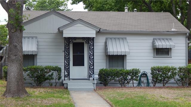 Photo of 1402 College Street  Arlington  TX