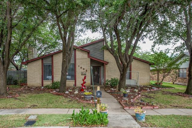 Photo of 1882 Hillcrest Drive  Lewisville  TX