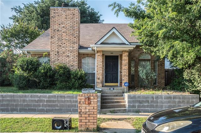 Photo of 843 Greenridge Drive  Arlington  TX