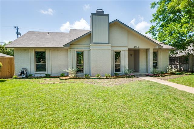 Photo of 4528 Newcombe Drive  Plano  TX