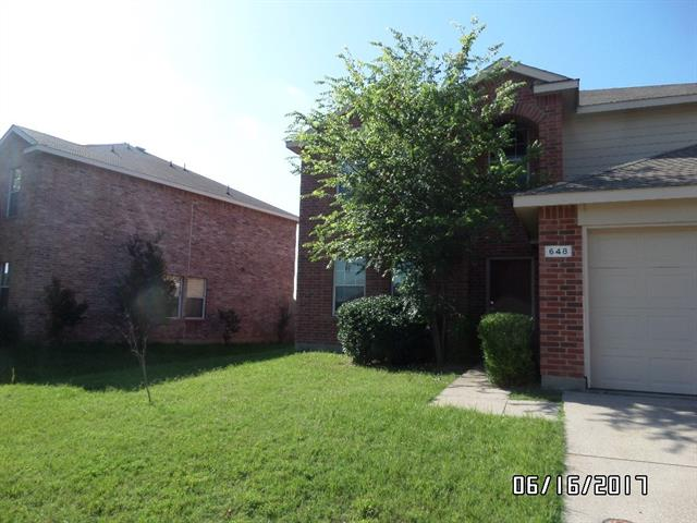 Photo of 648 Horn Street  Crowley  TX