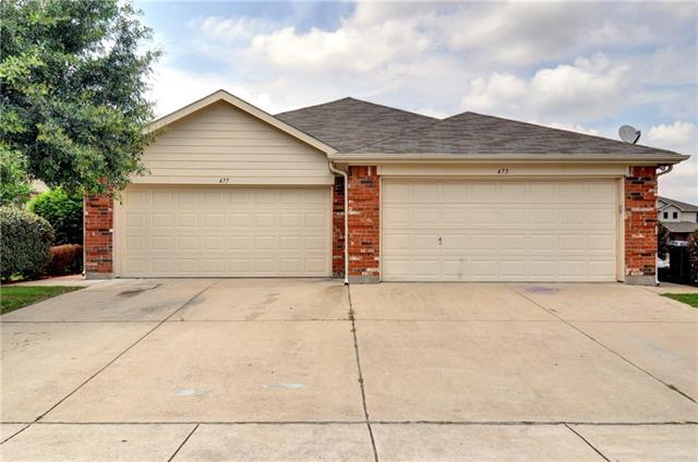 Photo of 477 Brookbank Drive  Crowley  TX