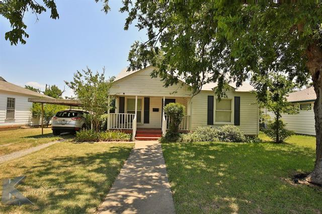 Photo of 1825 McCracken Street  Abilene  TX