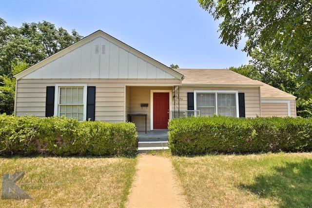 Photo of 1826 Mccracken Street  Abilene  TX