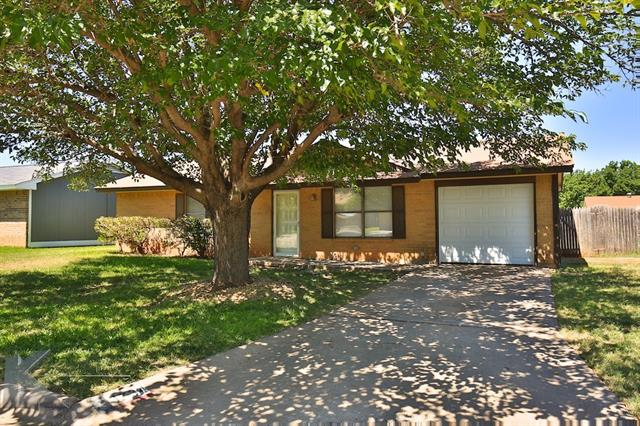 Photo of 3734 DUKE Lane  Abilene  TX