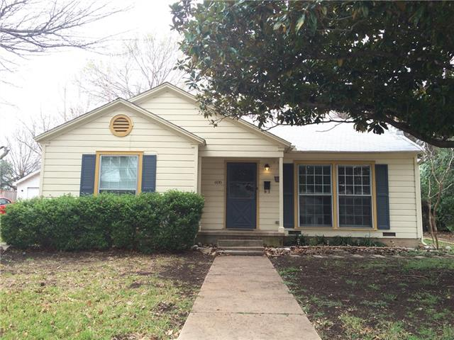 Photo of 608 N 30th Street  Waco  TX