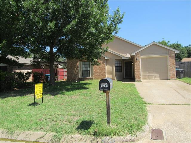 Photo of 4721 China Rose Drive  Fort Worth  TX