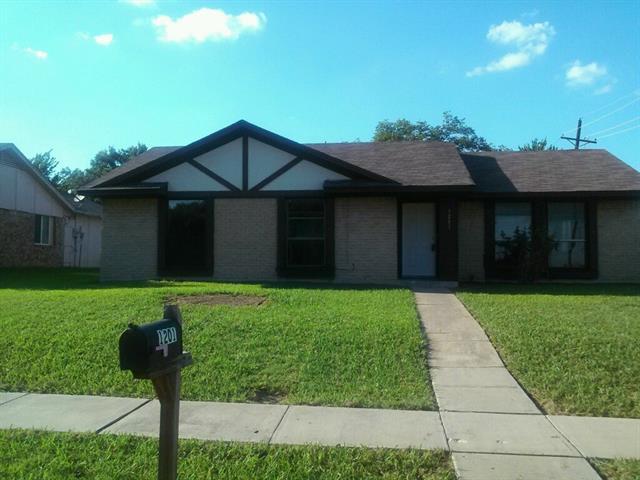 Photo of 1201 Valencia Lane  Lewisville  TX