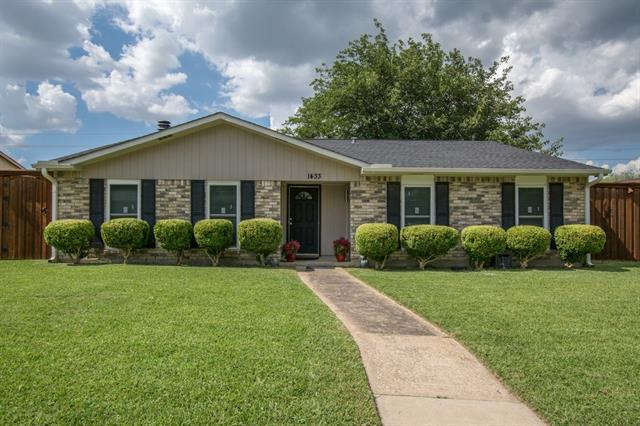 Photo of 1433 Coffeyville Trail  Plano  TX