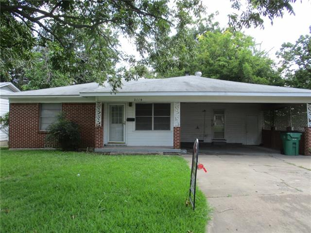 Photo of 2119 Frazier Street  Greenville  TX