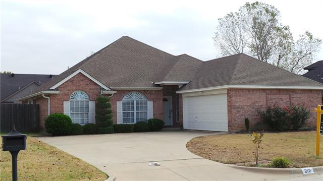 Photo of 212 Aspen Loop  Aledo  TX