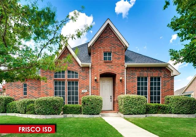 Photo of 1264 Seymour Drive  Frisco  TX