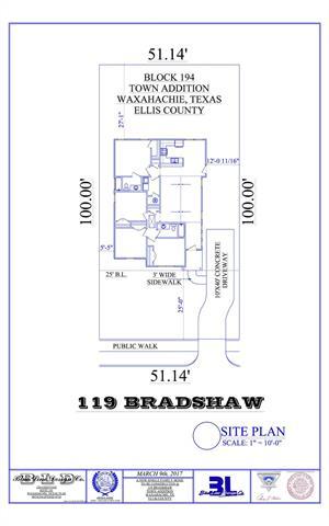 Photo of 119 Bradshaw Street  Waxahachie  TX