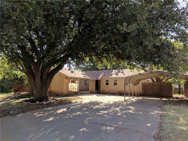 Photo of 3233 Wenwood Road  Abilene  TX