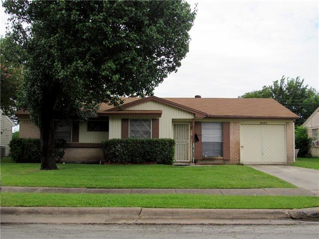 Photo of 1423 Oriole Boulevard  Duncanville  TX