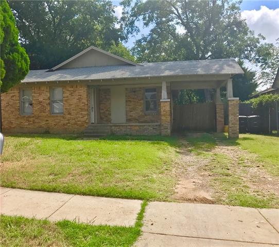 Photo of 2505 Wallace Street  Fort Worth  TX