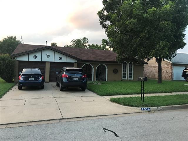 Photo of 7513 David Drive  North Richland Hills  TX