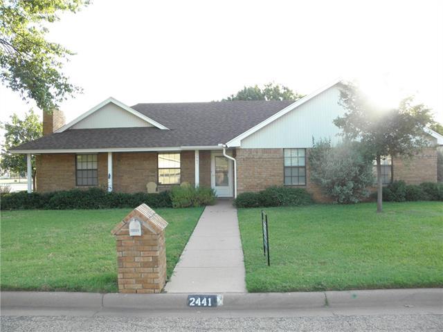 Photo of 2441 Rountree Drive  Abilene  TX
