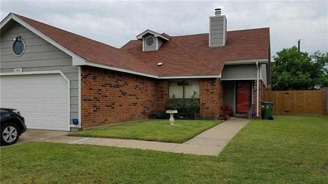 Photo of 406 Benjamin Lane  Arlington  TX