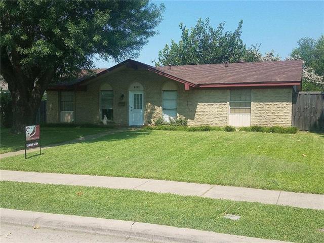 Photo of 637 Longbeach Drive  Garland  TX