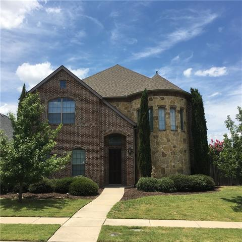 One of Frisco 4 Bedroom Homes for Sale at 11595 Lucca Lane