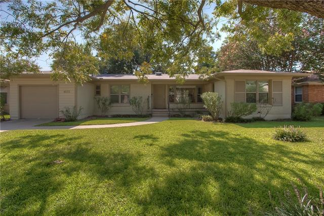 Photo of 4625 Selkirk Drive  Fort Worth  TX