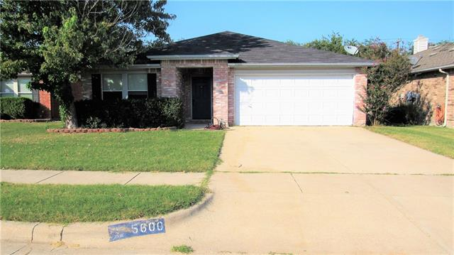 Photo of 5600 Glenshee Drive  Fort Worth  TX