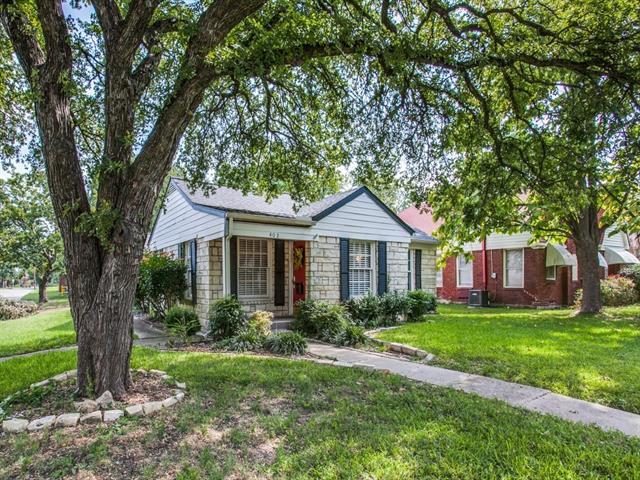 Photo of 402 Cordova Street  Dallas  TX
