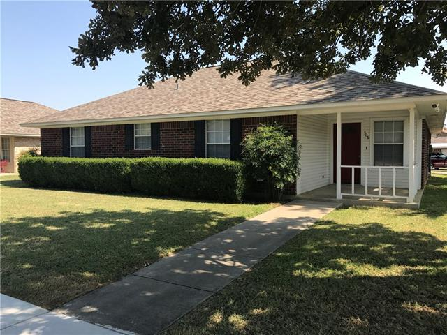Photo of 308 Foxwood Circle  Denton  TX
