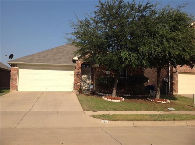 Photo of 516 Creekbend Street  Crowley  TX
