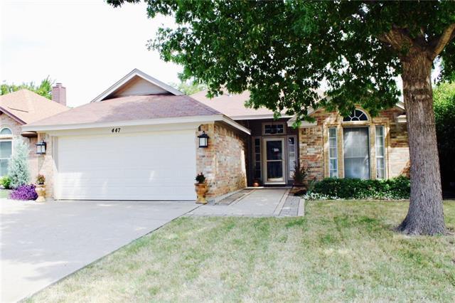 Photo of 447 Pebblecreek Drive  Keller  TX