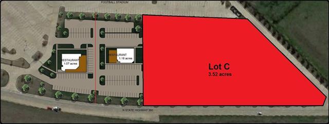 Lot C Hwy 360 Freeway Mansfield, TX 76063