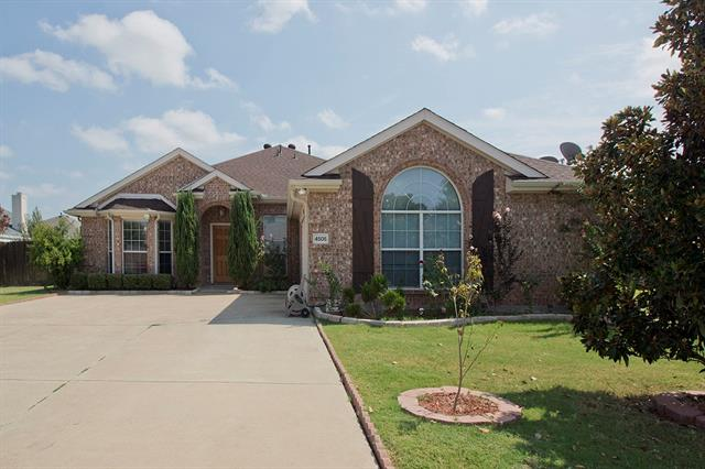 4505 Peach Tree Lane, Sachse in Dallas County, TX 75048 Home for Sale