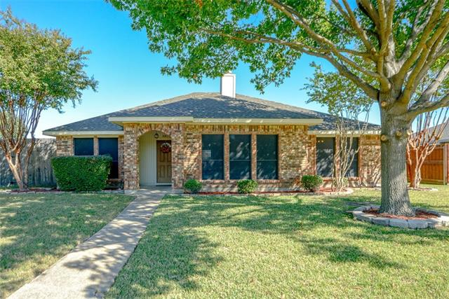 Single Story property for sale at 4912 Orchard Drive, Sachse Texas 75048