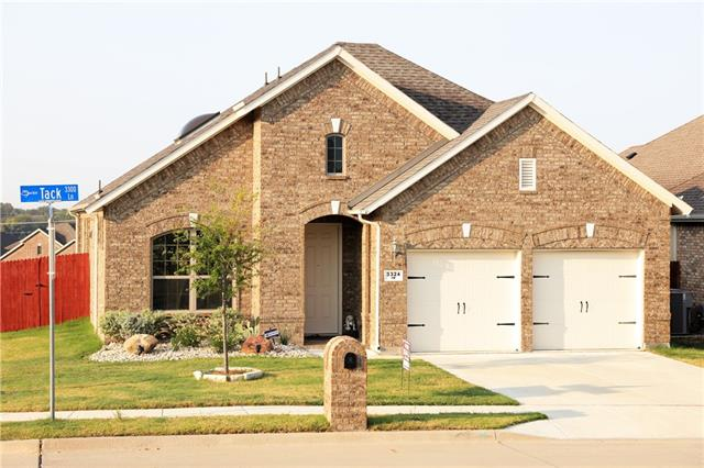 New Listings property for sale at 3324 Tack Lane, Sachse Texas 75048