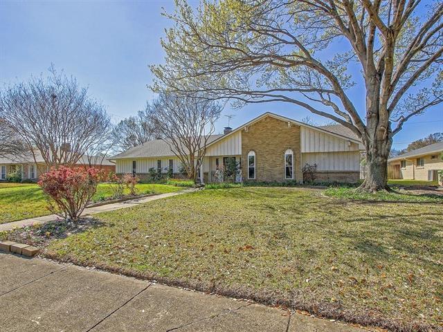 7734 Tanglecrest Drive, Addison in Dallas County, TX 75254 Home for Sale