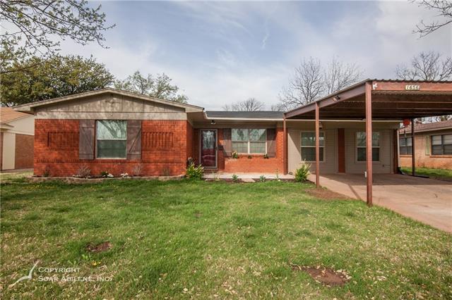 1656 Beechwood Lane Abilene, TX 79603
