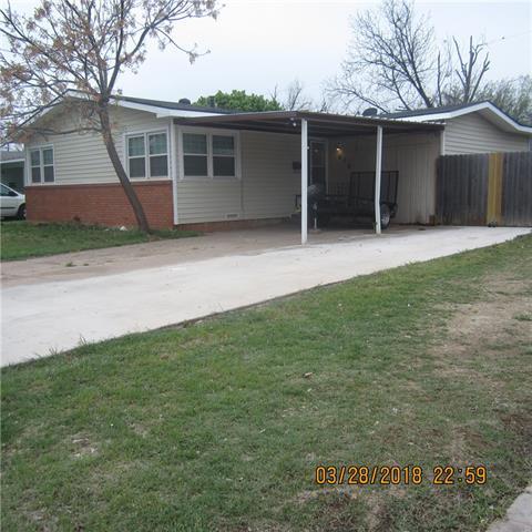 418 Shelton Street Abilene, TX 79603