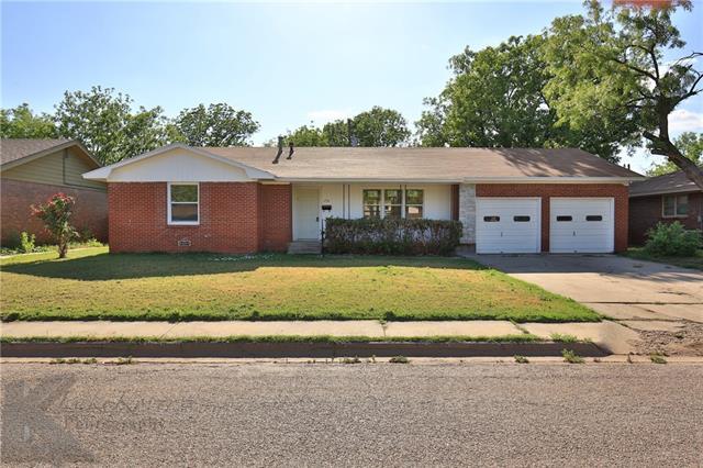 1718 Glenhaven Drive Abilene, TX 79603