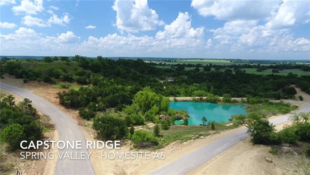 Tbd A6 Capstone Ridge Drive Road Santo, TX 76472