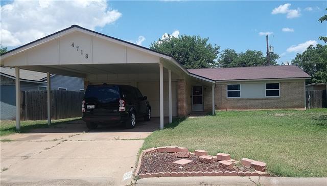 4718 S 6th Abilene, TX 79605