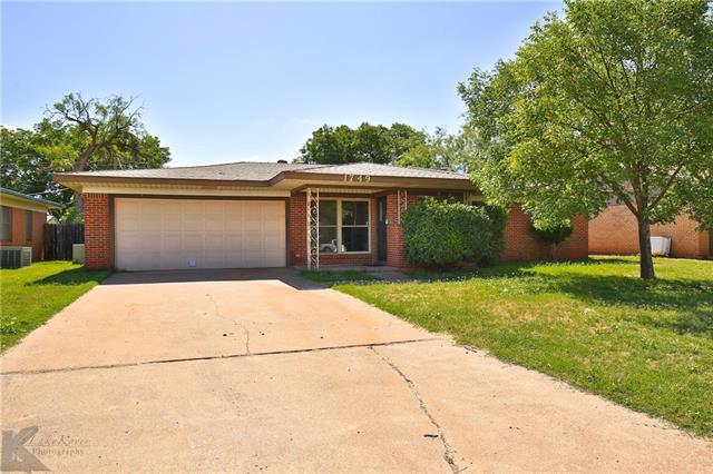 1749 N Willis Street Abilene, TX 79603