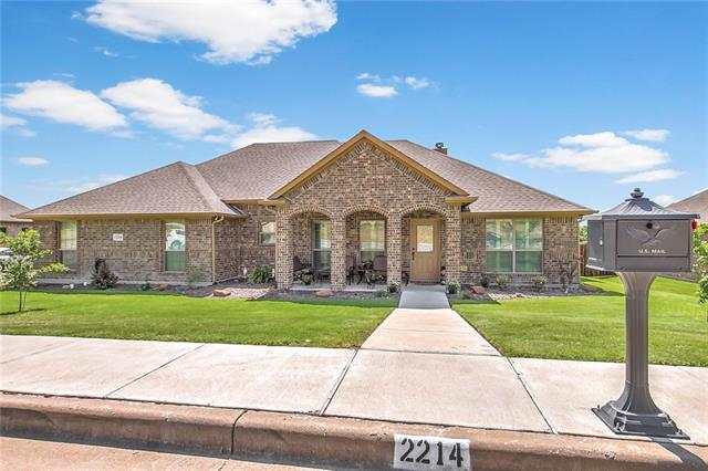 2214 Trace Ridge Drive, Weatherford in Parker County, TX 76087 Home for Sale