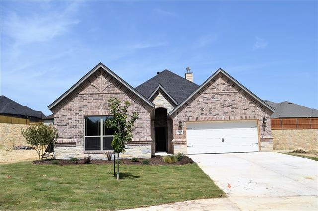 1613 Town Creek Circle, Weatherford in Parker County, TX 76086 Home for Sale