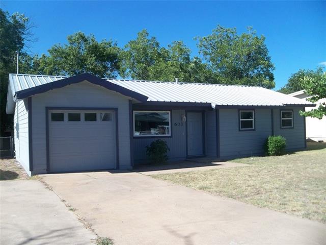 603 10th Street E Coleman, TX 76834