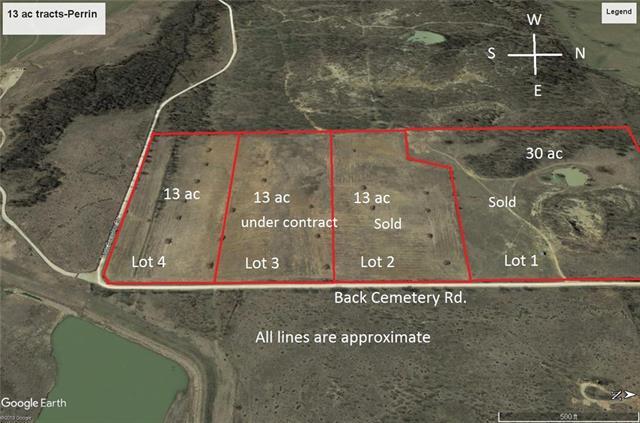 Lot 4 Back Cemetery Road Perrin, TX 76486