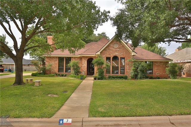 7 Lamar Circle Abilene, TX 79601